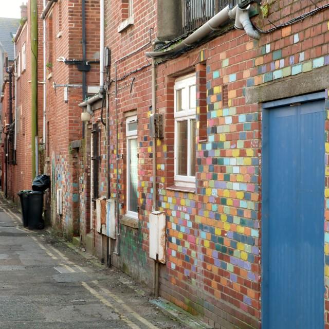 """Colourful Bricks"" stock image"