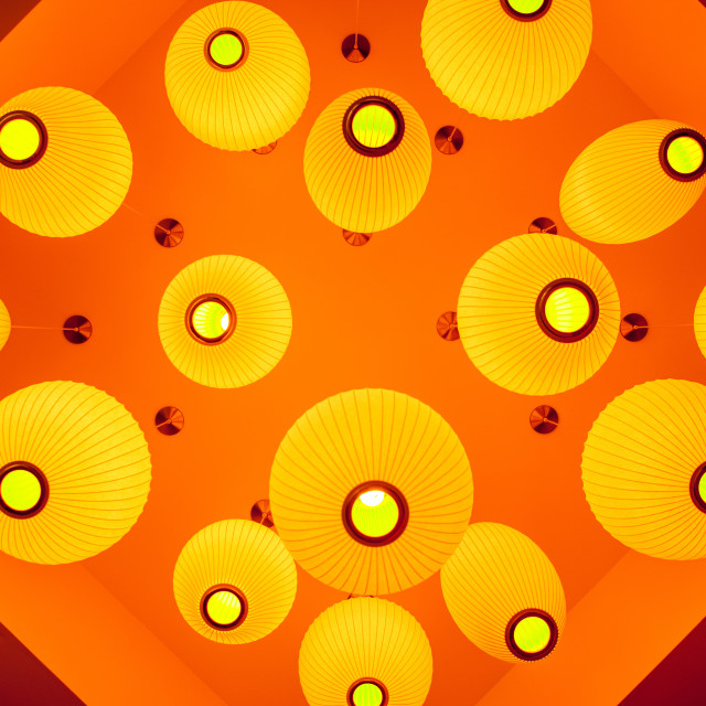 """Lobby Lighting"" stock image"