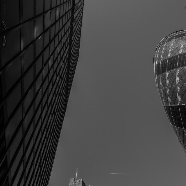 """""""City of London Architecture"""" stock image"""