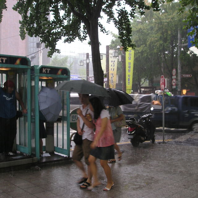 """Downpour"" stock image"