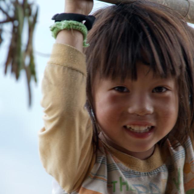 """Vietnamese Girl"" stock image"