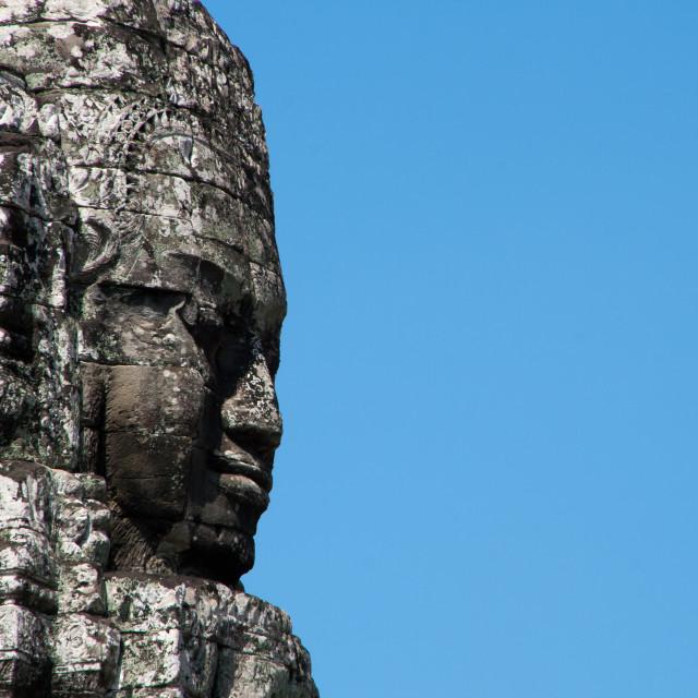 """Bayon Temple, Angkor."" stock image"