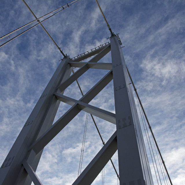 """Forth Road Bridge"" stock image"
