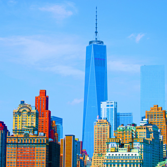 """""""New York in Colour"""" stock image"""