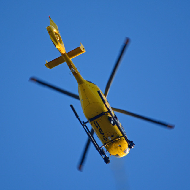 """Police Helicopter"" stock image"