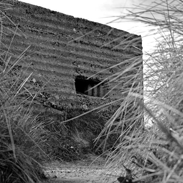 """Bunker"" stock image"