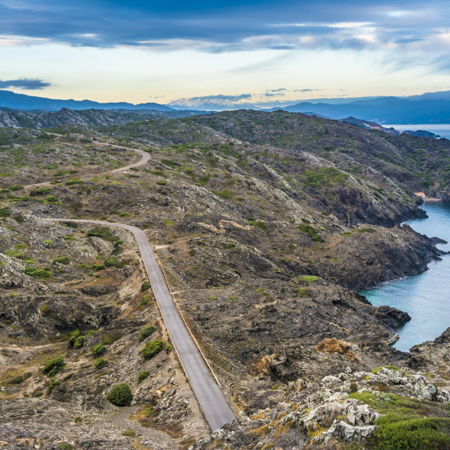 """""""Coast in the north of Catalonia"""" stock image"""