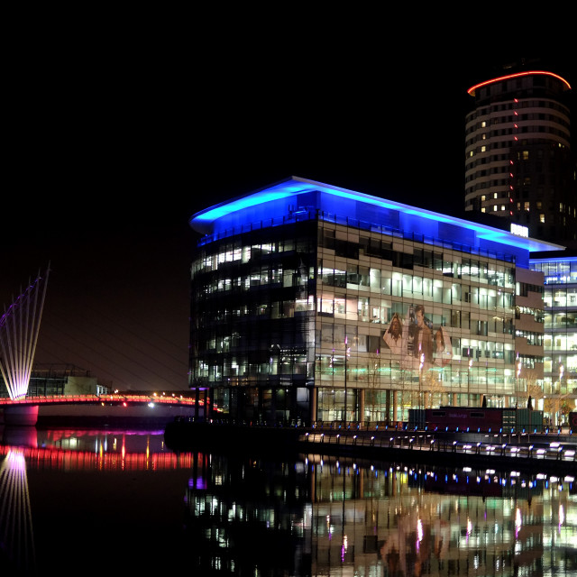 """Media City Salford UK"" stock image"