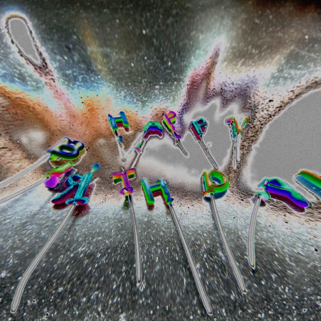 """""""Happy Birthday concept."""" stock image"""