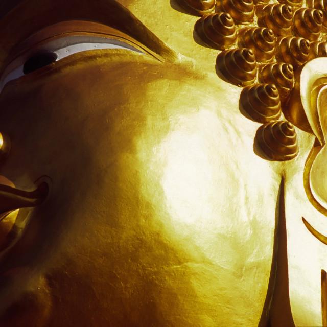 """Statue of Bhudda."" stock image"