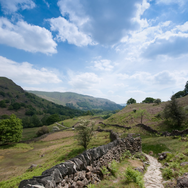 """Lake district uk"" stock image"
