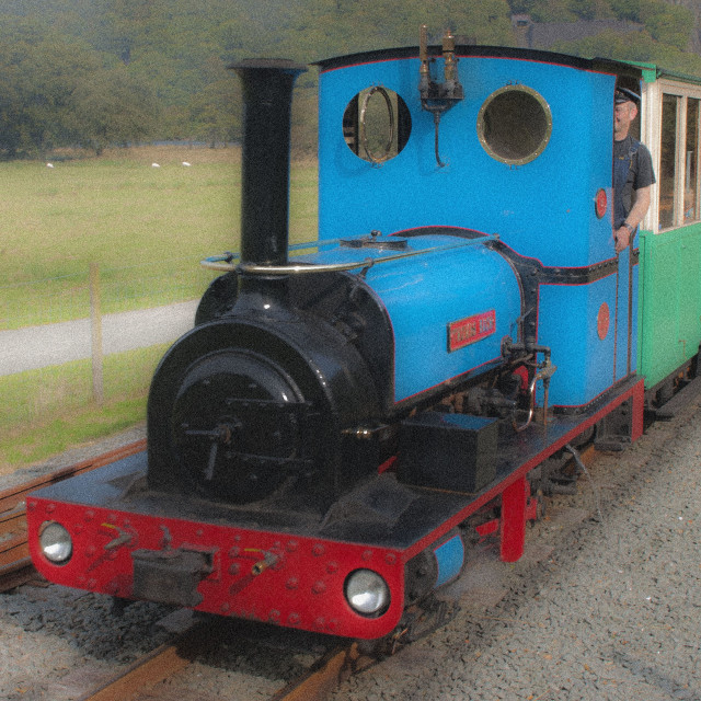 """Steam Train."" stock image"
