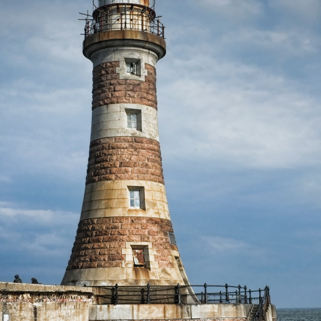 """Roker Lighthouse"" stock image"