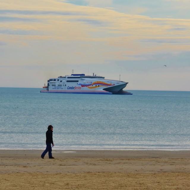 """Condor Ferry."" stock image"