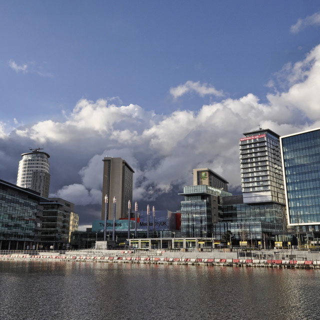 """Media City"" stock image"