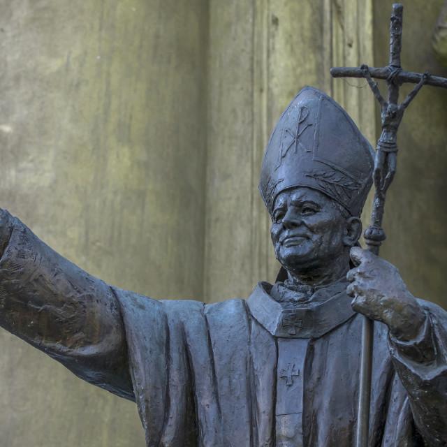 """Pope John Paul II"" stock image"