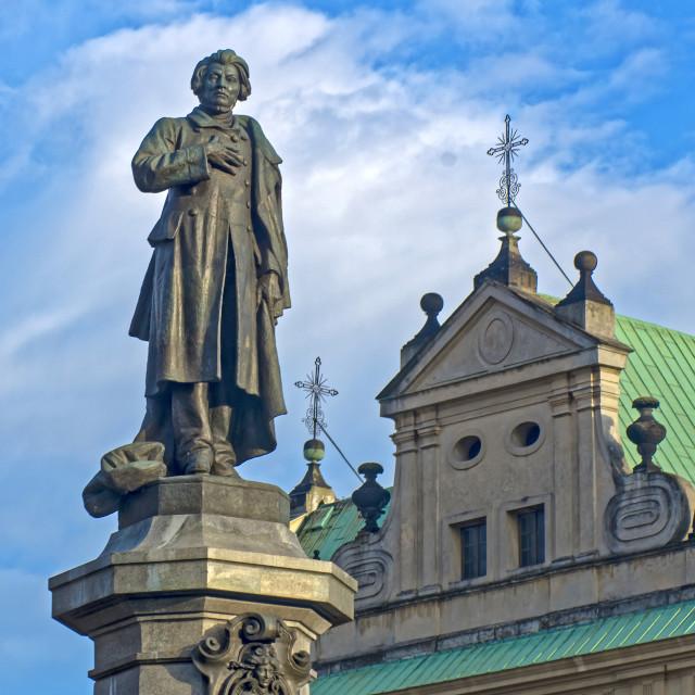 """""""Adam Mickiewicz"""" stock image"""