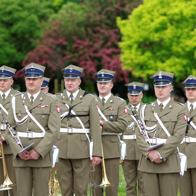 """""""Military orchestra"""" stock image"""