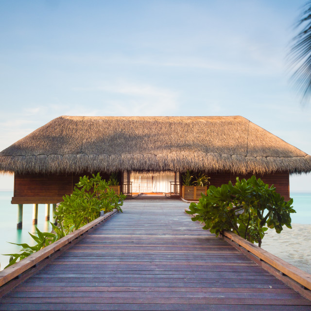 """Maldivian Spa"" stock image"