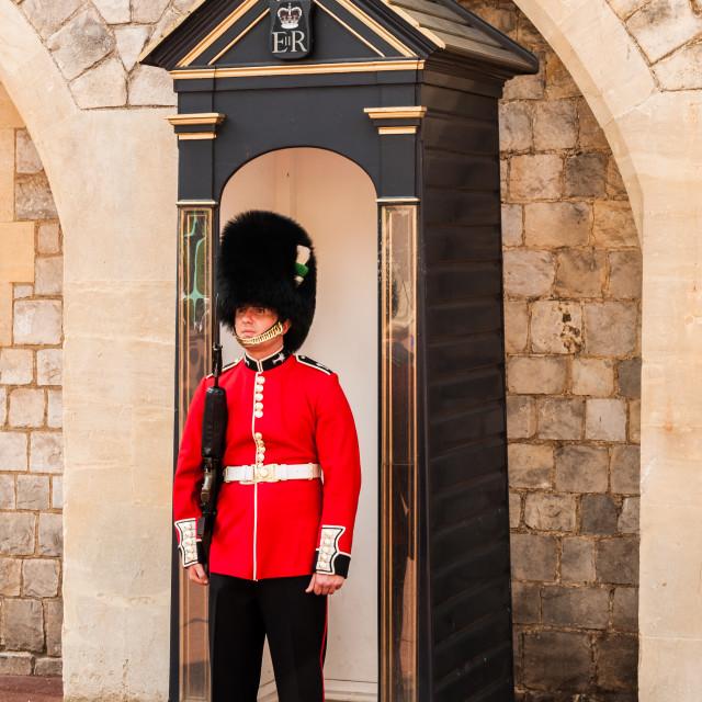 """UK - Ceremonial Guard"" stock image"