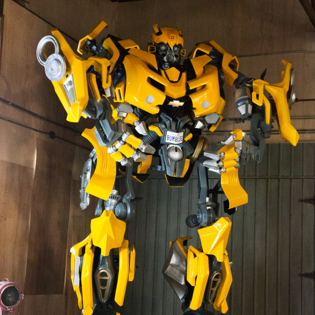 """Bumblebee, Transformers"" stock image"