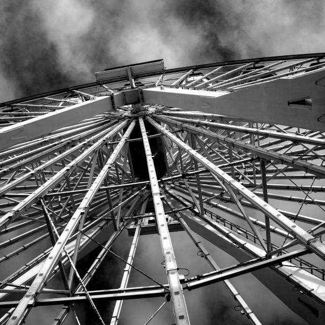 """Santa Monica Ferris Wheel"" stock image"