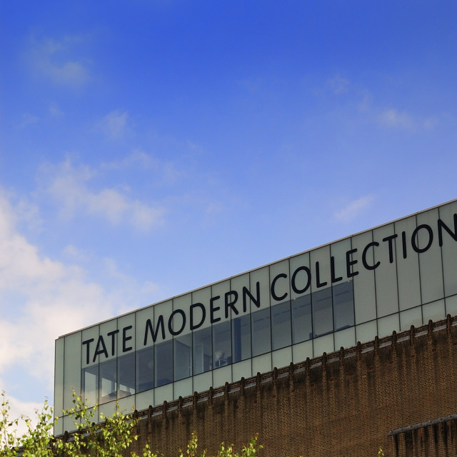 """The Tate Modern Art Gallery"" stock image"