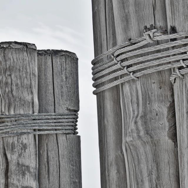 """Timbers of Manhattan"" stock image"