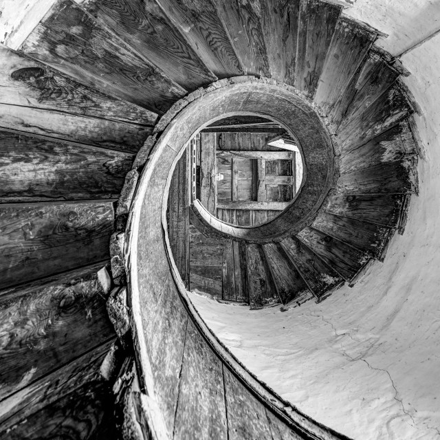 """Upnor Spiral"" stock image"