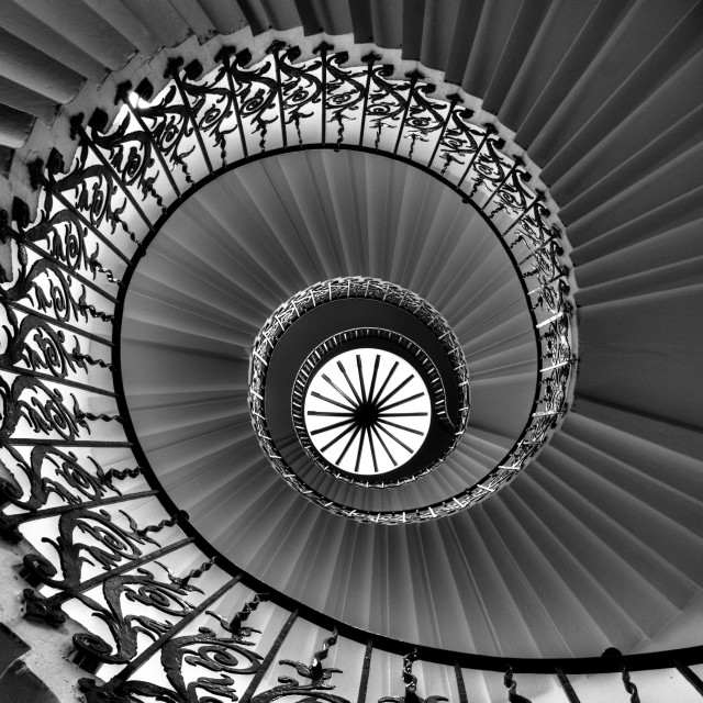 """Tulip Staircase"" stock image"