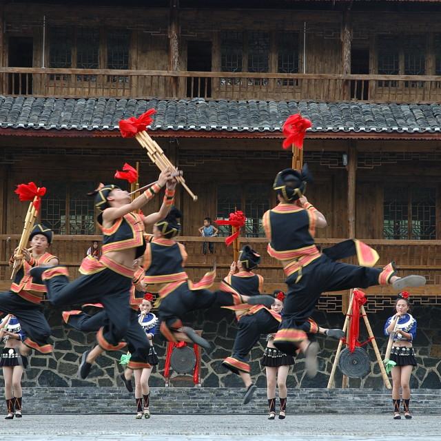 """""""Folk Dance"""" stock image"""