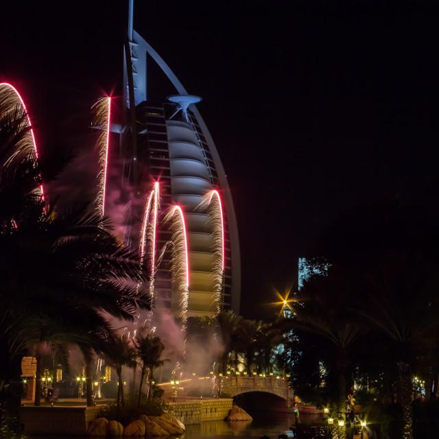 """""""Burj Al Arab, Dubai"""" stock image"""