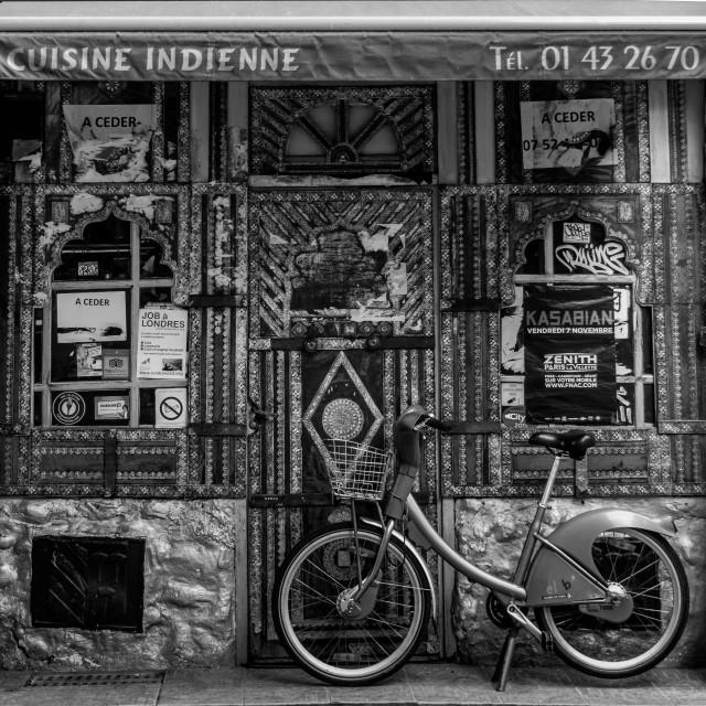 """""""Parisian Indian"""" stock image"""