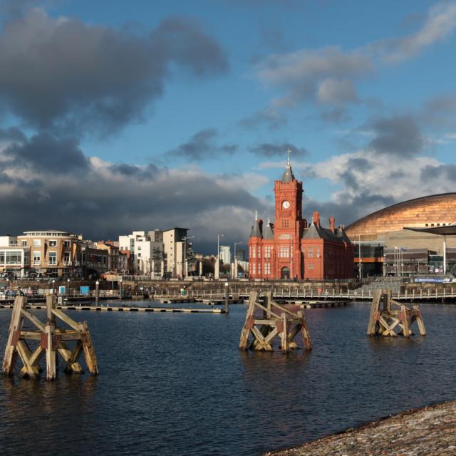 """""""Cardiff Bay, Wales, UK"""" stock image"""