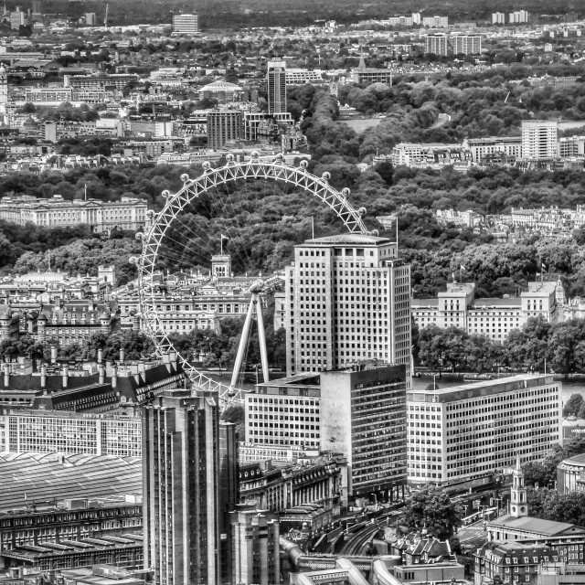"""London Eye"" stock image"