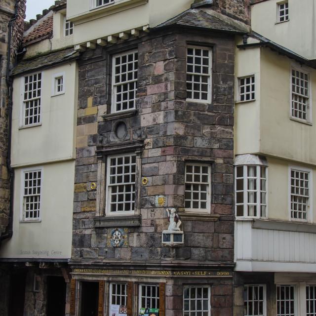 """John Knox's House"" stock image"