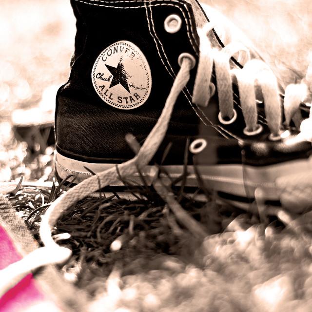 """Converse picnic"" stock image"