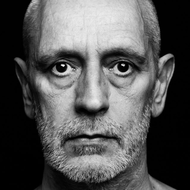 """Dramatic Portrait of Man"" stock image"
