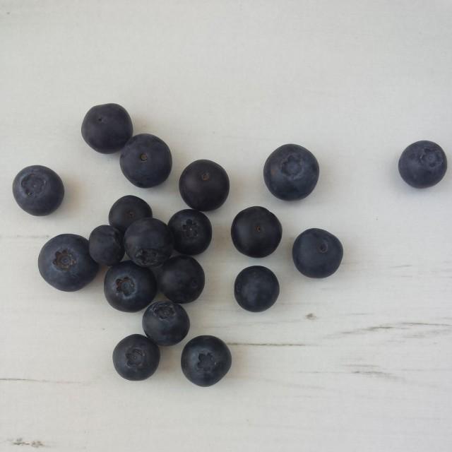 """Blueberries"" stock image"