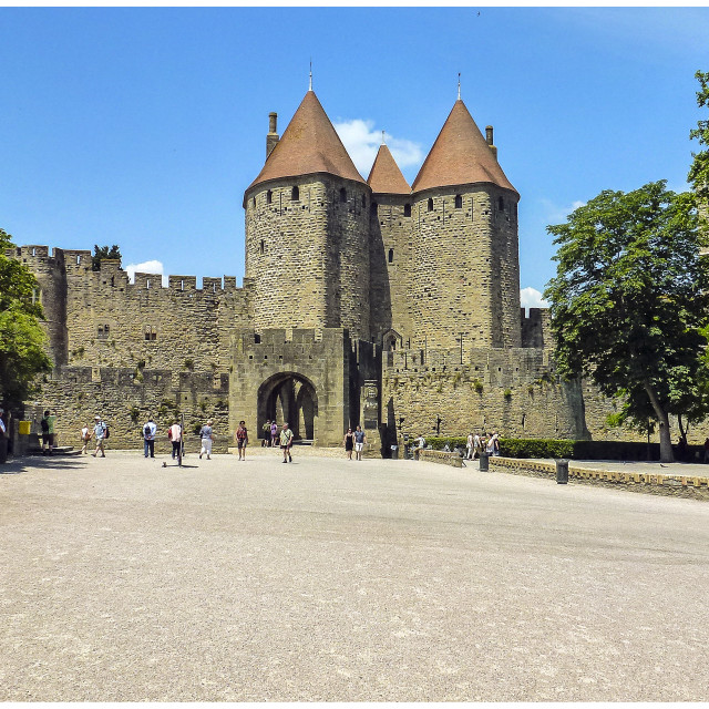 """Carcassonne"" stock image"