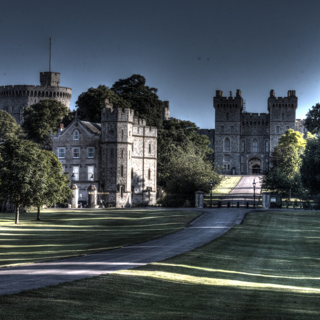 """Windsor Castle"" stock image"