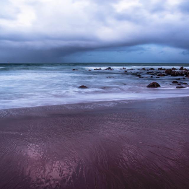 """Pastel seascape"" stock image"