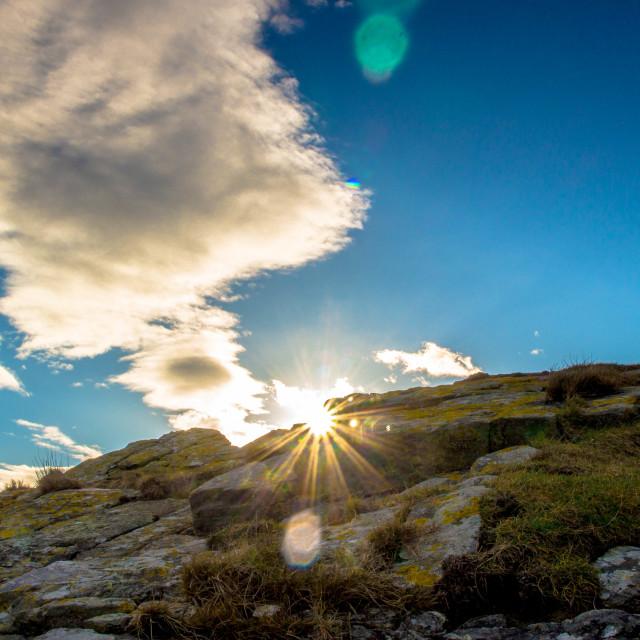 """""""Sunrise landscape"""" stock image"""