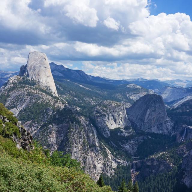 """Half Dome, Yosemite"" stock image"