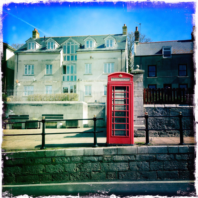 """Telephone Box"" stock image"