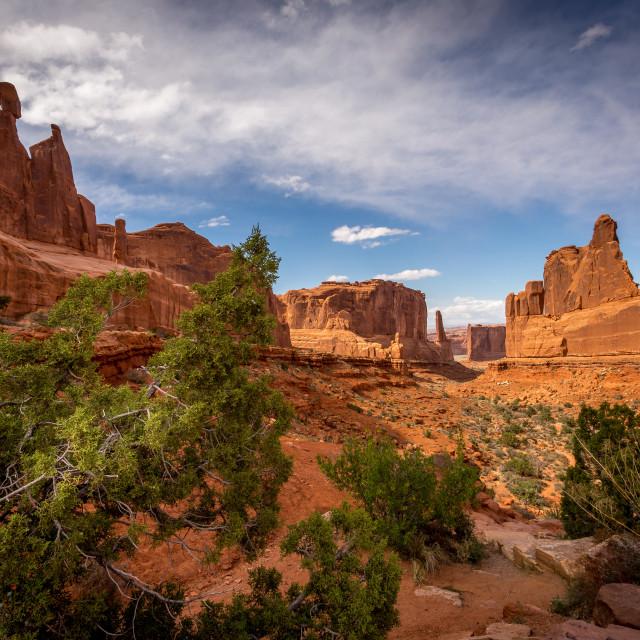 """Sandstone Monoliths"" stock image"