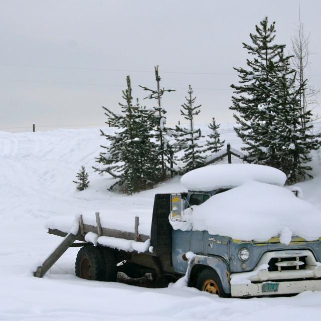 """Snowmageddon"" stock image"