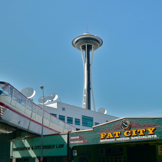 """Seattle"" stock image"