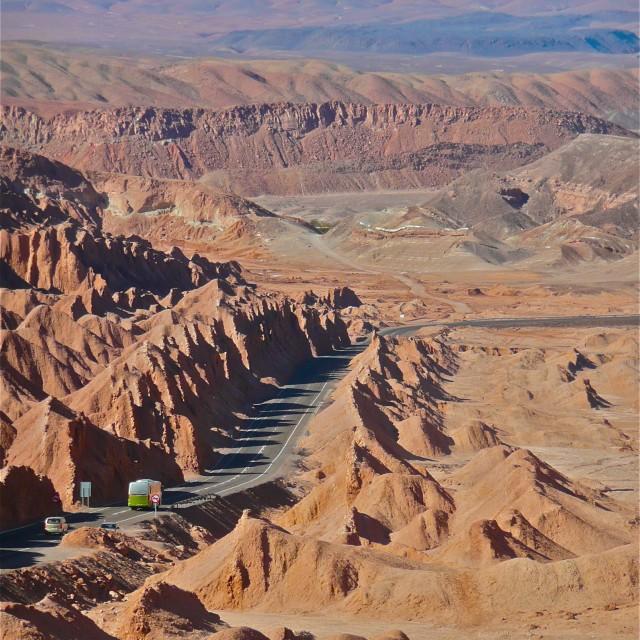 """Atacama Desert Chile"" stock image"