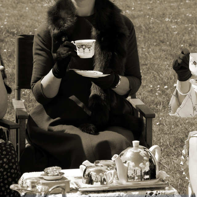 """Tea party"" stock image"